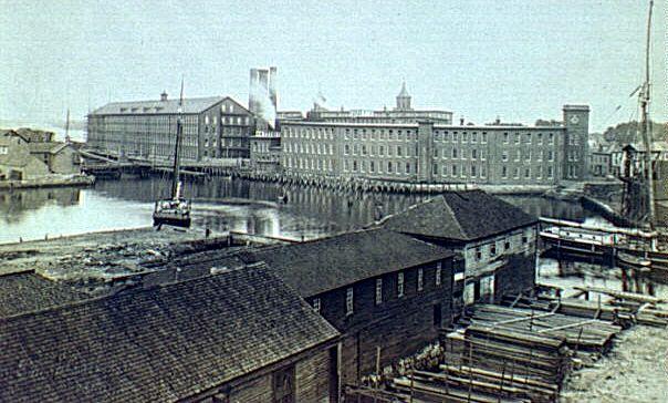 Naumkeag Steam Cotton Co 1890s Cousins