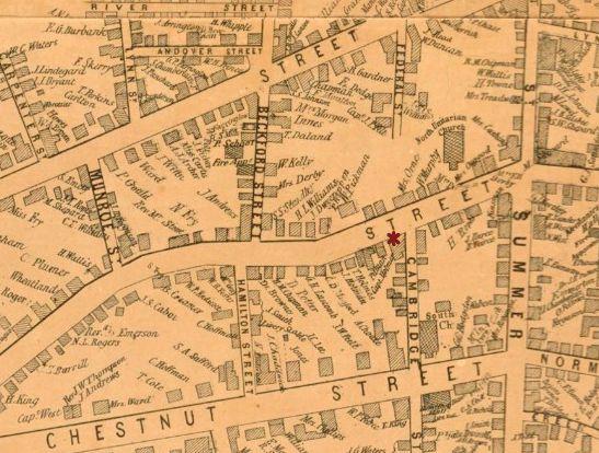 Salem Map 1851