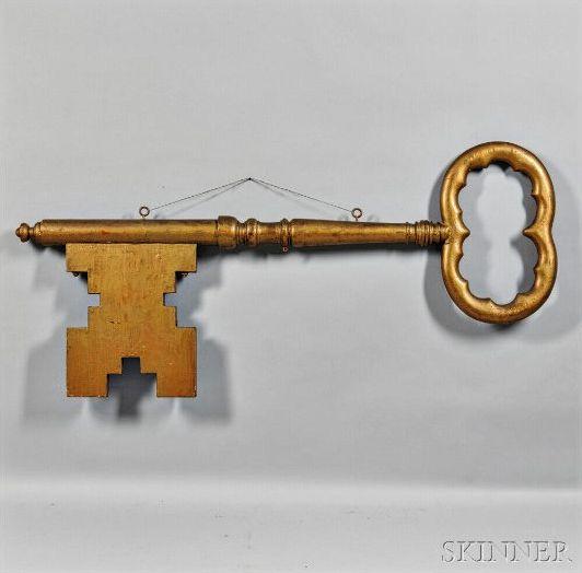 sign key