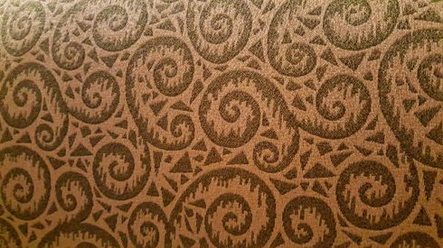 Fiddlehead fabric