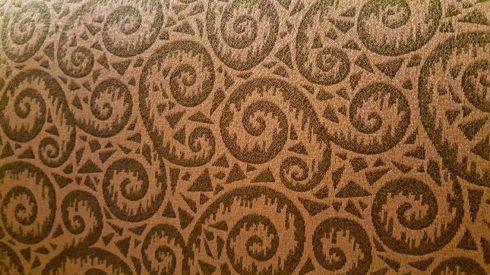 Fiddlehead fabric
