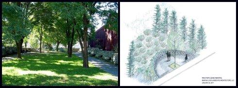 Memorial Tree collage