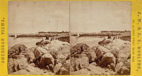 Salem Harbor Stereoview 2