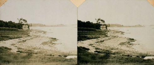 Salem Harbor Stereoview 3