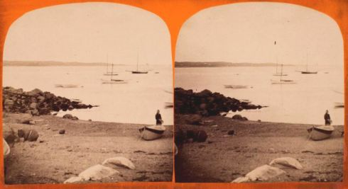 Salem Harbor Stereoview 8
