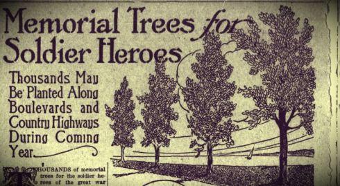 Trees Memorial