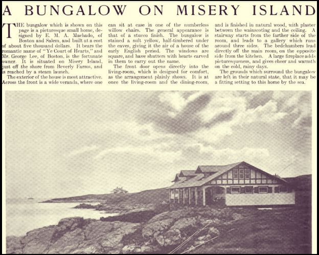 Misery Island Lee Bungalow