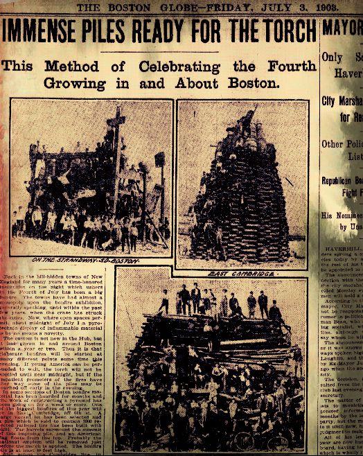 Bonfires 1903