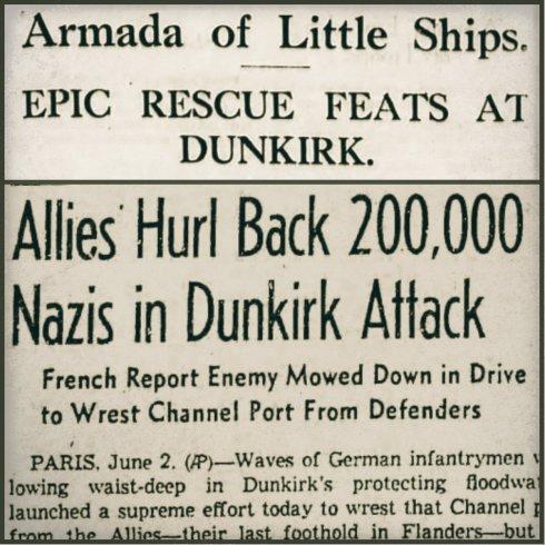 Dunkirk collage