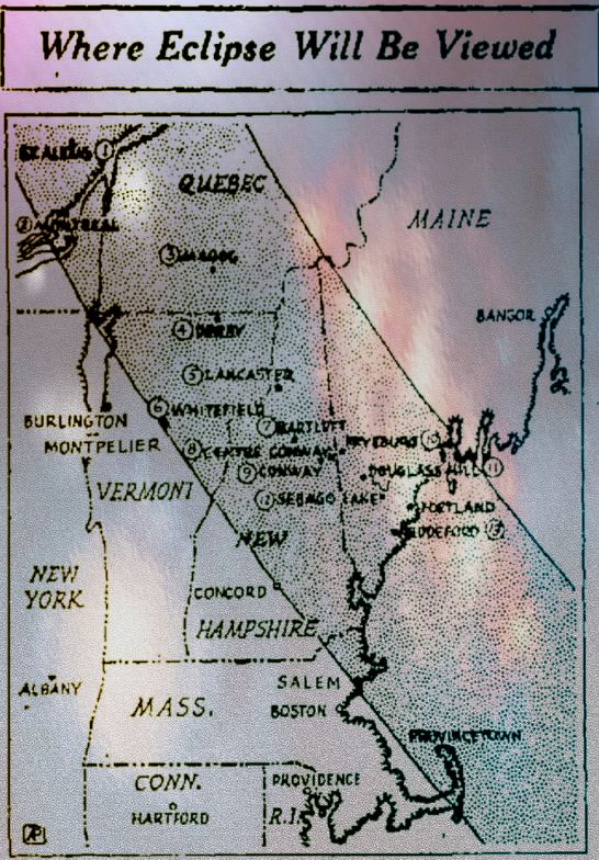 Eclipse 1932 NE Map