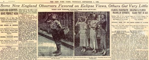 Eclipse NYT