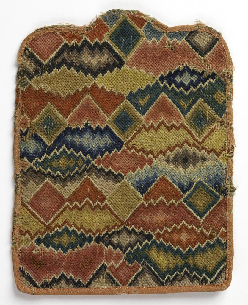 Flame-stitch purse CH