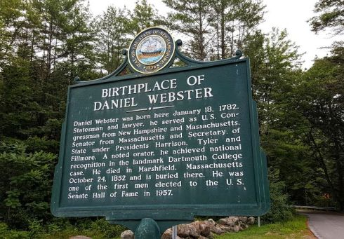 NH Marker Webster