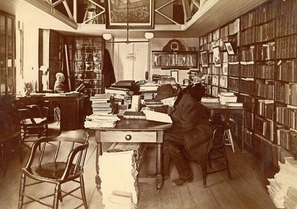 Phillips Library 1885