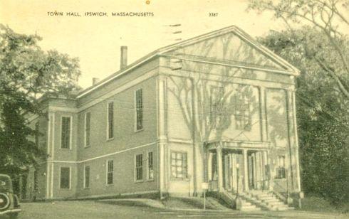 Ipswich town hall 1930s