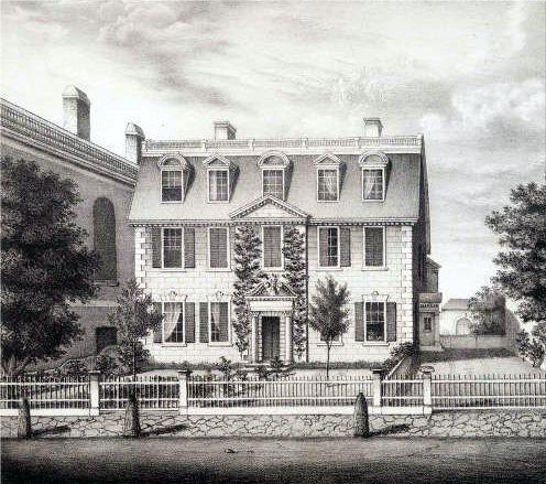 Pickman Lithograph Boston Athenaeum