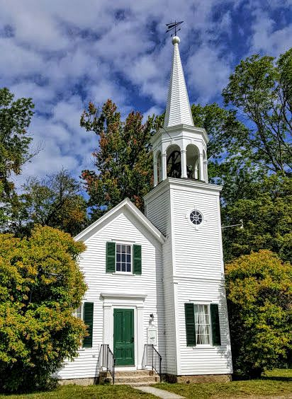 White NH Church