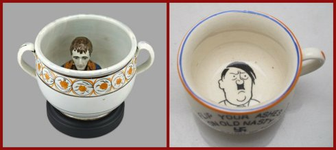 Propaganda Pottery collage