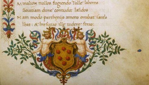 Three Golden Balls Medici MS 15th C