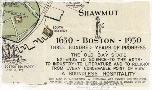 Pictorial Map Boston