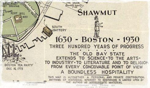 Pictorial Map Boston