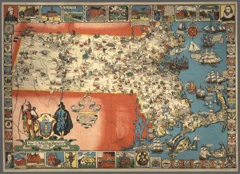 Pictorial Map Shurtleff