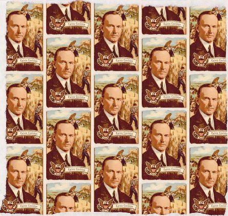 Calvin Coolidge Fabric