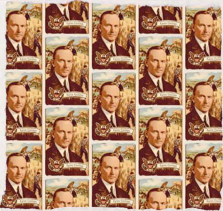 Calvin Coolidge Fabric