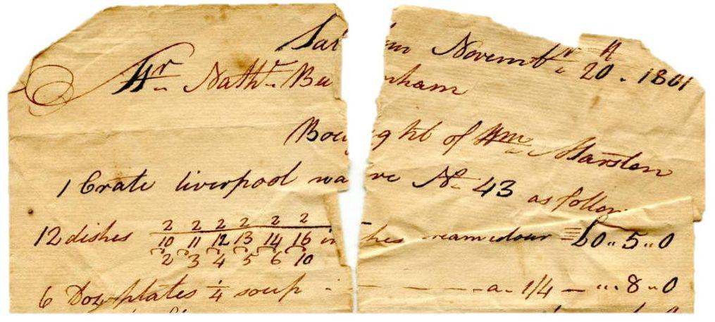 Home Furnishings 1801