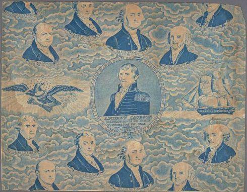 Presidential Prints 11 Jackson Cornell