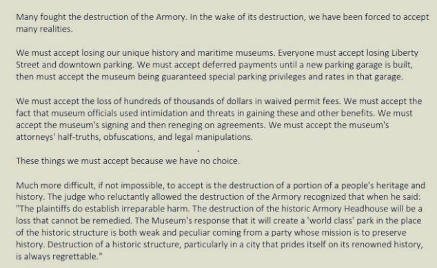 Armory text 3