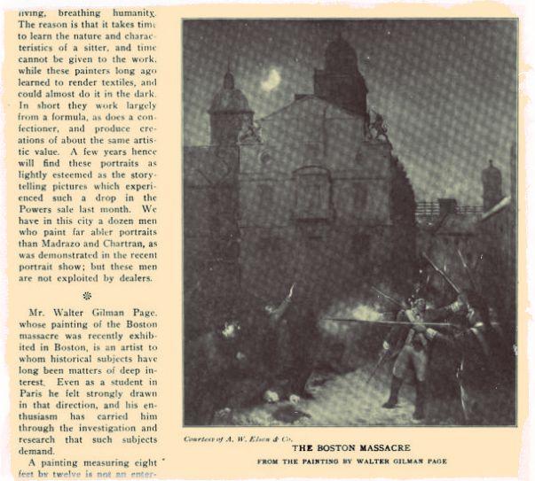Boston Massacre Art Exchange 42
