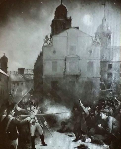 Boston Massacre Page