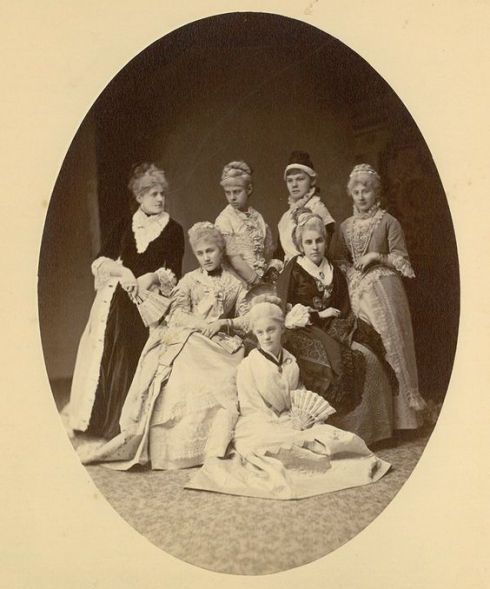 Photograph of Waters family members, undated, MSS 92 Volume 4