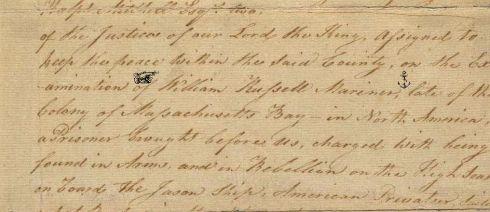 Locked Away Russell Warrant 1779