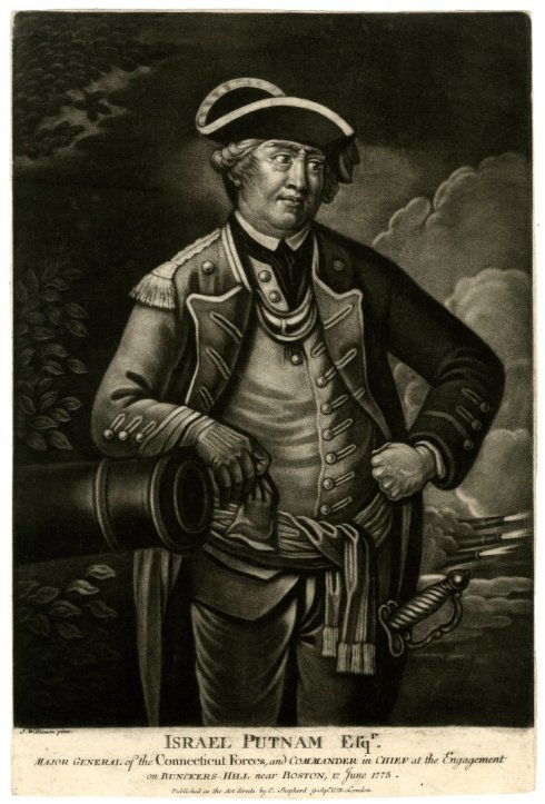 Rebel Officers Israel Putnam