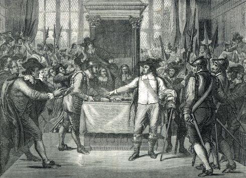 Rump Cromwell Great Men