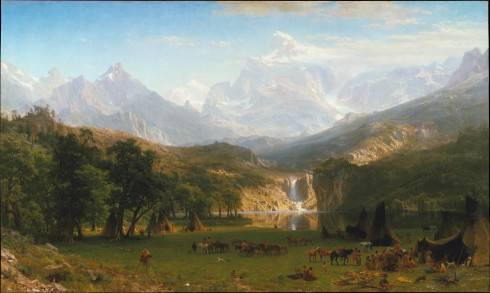 Bierstadt Rocky Mountains