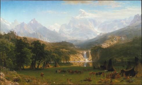 Bierstadt Rocky Mountains