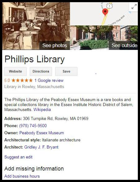 Phillips Location
