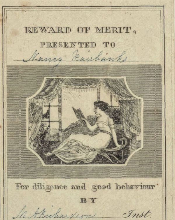 Reward of Merit 1842