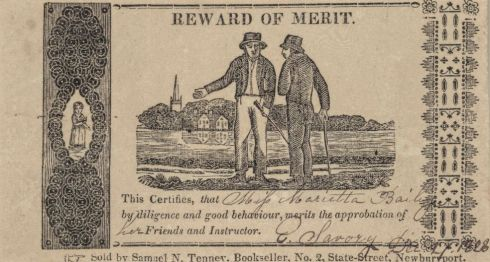 Reward of Merit ABE 6 1828