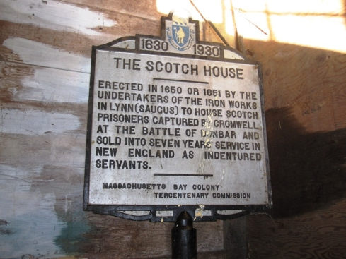 The Scotch House Marker