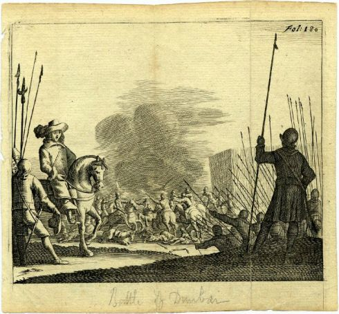 Scottish Prisoners of War Dunbar 1661 BM