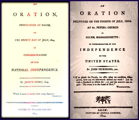 Fourth of July 1804 collage
