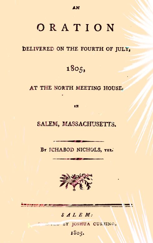 Fourth of July 1805