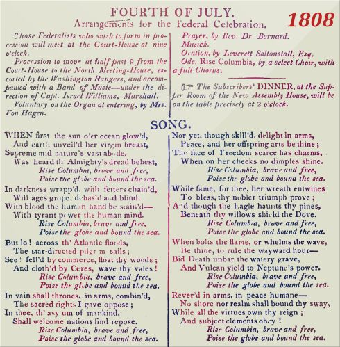 Fourth of July 1808