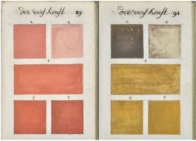 Color Chart 1690s