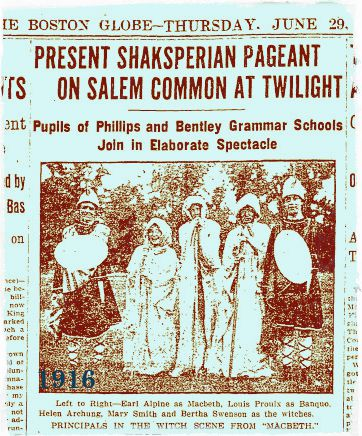 Salem Common Pageant 1916