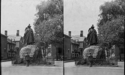 Conant Statue Keystone-Mast
